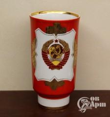 Ваза с изображением герба СССР